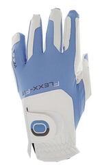 Zoom Gloves Weather Damen Golfhandschuh Weiß/Hellblau Linke Hand für Rechtshänder