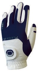 Zoom Gloves Weather Mens Golf Glove White/Navy LH