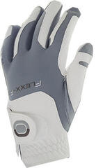 Zoom Gloves Weather Womens Golf Glove White/Silver Left Hand for Right Handed Golfers