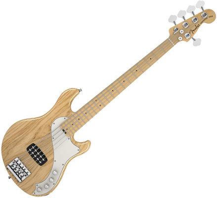Fender American Deluxe Dimension Bass V Natural