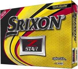 Srixon Z-Star Golf Balls Yellow 12