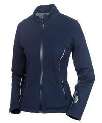 Sunice Onassis Zephal Waterproof Womens Jacket Midnight Embossed/Pure White