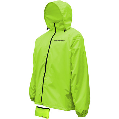 Nelson Rigg Rain Jacket Compact High Visibility XL