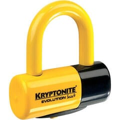 Kryptonite Evolution Series 4 Disc Lock (48 x 54 mm) Yellow
