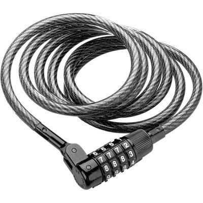 Kryptonite Kryptoflex 815 Combo Cable Lock (8 mm x 150 cm) Black