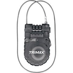 Trimax Cable-Lock Retractable 3-Digit Combination 3'