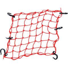 PowerTye Cargo Net 38,1 cm 15'' X 38,1 cm 15'' Red Textile Plastic