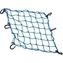 PowerTye Cargo Net 38,1 cm 15'' X 38,1 cm 15'' Blue Textile Plastic