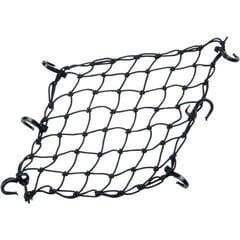 PowerTye Cargo Net 38,1 cm 15'' X 38,1 cm 15'' Black Textile Plastic