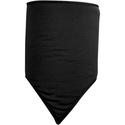Zan Headgear Gaiter Combo Fleece Solid Black