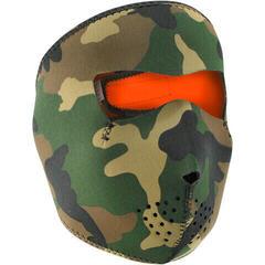 Zan Headgear Full Face Mask Woodland Camo