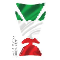 OneDesign Universal Tank Pad Gloss Italian Flag Design
