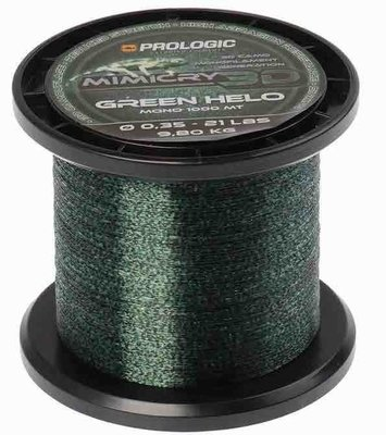 Prologic Mimicry Green Helo 1000 m 21 lbs 9.8kg 0.35 mm