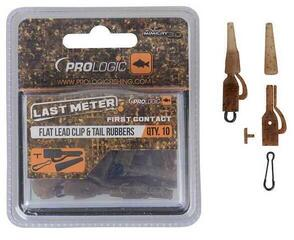 Prologic LM Mimicry Flat Leadclip W/Tailrubber & Speed Link 10 pcs
