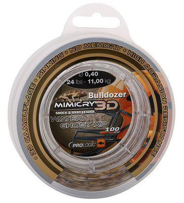 Prologic Bulldozer Mimicry Water Ghost XP 100 m 24 lbs 11.0kg 0.40 mm