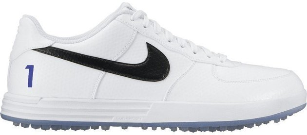 Nike Lunar Force 1 G Mens Golf Shoes White US 9