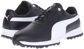 Puma Ace Leather Mens Golf Shoes White/Navy