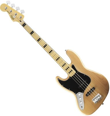 Fender Squier Vintage Modified Jazz Bass 70s Left-Handed Natural