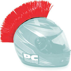 PC Racing Helmet Mohawk Red