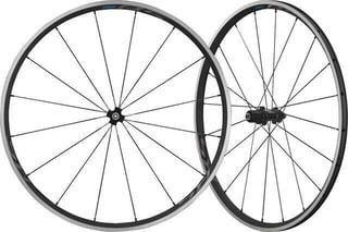 Shimano WHRS300 C24 10/11-K. Road Wheels Black