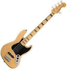 Fender Squier Classic Vibe '70s Jazz Bass V MN Natural