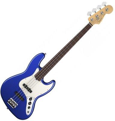 Fender American Standard Jazz Bass Rosewood Fingerboard Mystic Blue