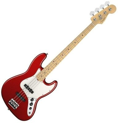 Fender American Standard Jazz Bass Maple Fingerboard Mystic Red