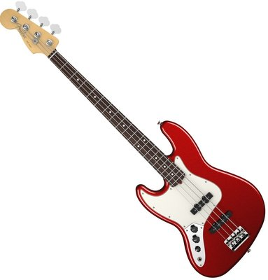 Fender American Standard Jazz Bass Left Handed Mystic Red