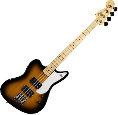 Fender Pawn Shop Reverse Jaguar Bass 2 Color Sunburst