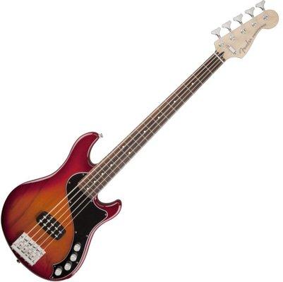 Fender Deluxe Dimension Bass V 5 string Aged Cherry Burst