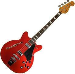Fender Coronado Bass Candy Apple Red
