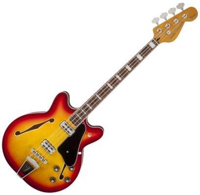 Fender Coronado Bass Aged Cherry Burst B-stock