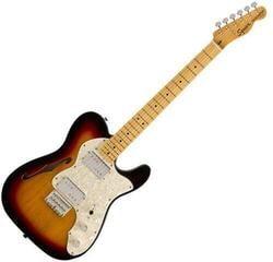 Fender Squier Classic Vibe '70s Telecaster Thinline MN 3-Tone Sunburst