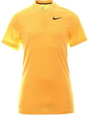 Nike AeroReact Slim Mens Polo Shirt Laser Orange/Black XL