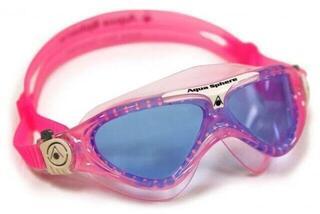 Aqua Sphere Vista Junior Blue Lens Pink/White