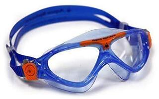 Aqua Sphere Vista Junior Clear Lens Blue/Orange