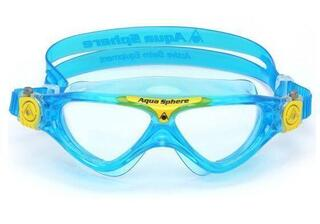 Aqua Sphere Vista Junior Clear Lens Aqua/Yellow