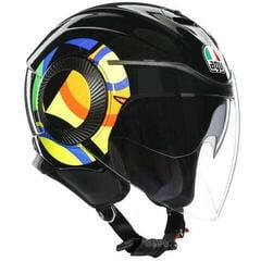 AGV Orbyt Sun&Moon 46 Black/Parrot