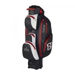 Bennington Sport QO 14 Waterproof Cart Bag Black/White/Red