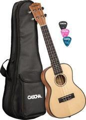 Cascha HH 2151 Koncertné ukulele Natural