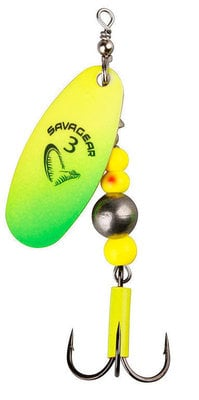 Savage Gear Caviar Spinner #4 14g Yellow/Chartreuse