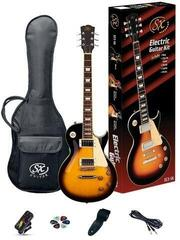 SX SE3 Electric Guitar Kit Vintage Sunburst