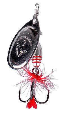 Savage Gear Rotex Spinner #3a 6g Matt Silver