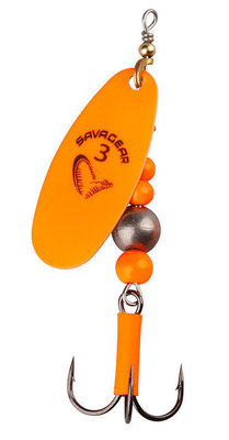 Savage Gear Caviar Spinner #4 14g Flou Orange