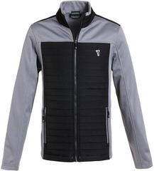 Golfino Microfibre Fleece Mens Jacket Chrome Grey 48