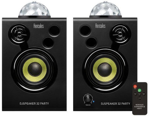 Hercules DJ Monitor Party 32