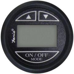 Faria Depth Sounder with Air and Water Temperature - Transom Mount Black