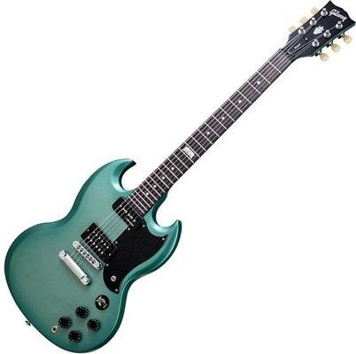 Gibson SG Futura 2014 w/Min E Tune Inverness Green Vintage Gloss