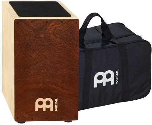Meinl CAJ3 FM-M String Cajon Figured Mahogany and Bag