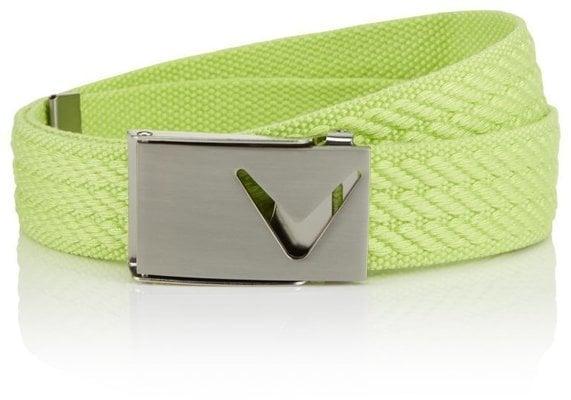 Callaway Web Belt Cuto Sharp Green OS Womens